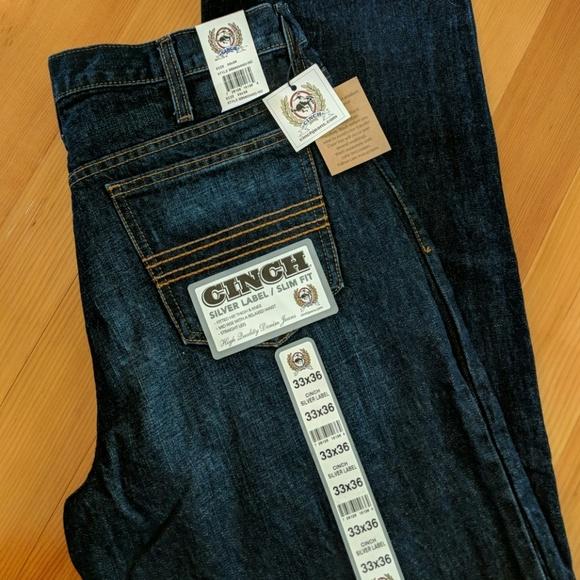 8eec0696 Cinch Jeans | Silver Label Dark Wash Mens 33 X 36 | Poshmark